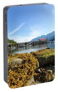 Low Tide At Horseshoe Bay Canada On A Sunny Day Portable Battery Charger