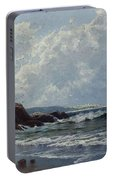 Low Tide, Hetherington's Cove, Grand Manan By Alfred Thompson Bricher Portable Battery Charger