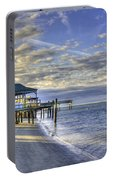 Low Tide Sunrise Tybee Island Portable Battery Charger