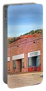 Lowell Arizona Pottery Building Old Police Car Portable Battery Charger