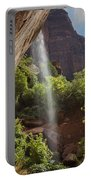 Lower Emerald Pool Falls In Zion Portable Battery Charger