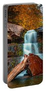 Lower Falls At Kaaterskill Portable Battery Charger