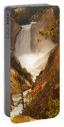 Lower Falls From Artists Viewpoint Portable Battery Charger