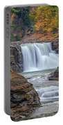 Lower Falls In Autumn Portable Battery Charger