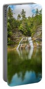 Lower Falls Of Enfield Glen Early Autumn Portable Battery Charger