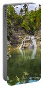 Lower Falls Of Enfield Glen Robert H. Treman State Park Portable Battery Charger