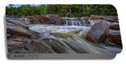 Lower Falls Of The Swift River Portable Battery Charger