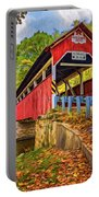 Lower Humbert Covered Bridge 2 - Paint Portable Battery Charger
