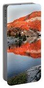 Lower Ottoway Lake Sunset - Yosemite Portable Battery Charger