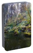 Lower Pond At Portland Japanese Garden Portable Battery Charger