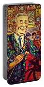 Lowry's Painting Suit Vintage Portable Battery Charger