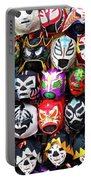 Lucha Libre Wrestling Masks Portable Battery Charger