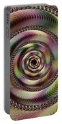 Lucid Hypnosis Abstract Wall Art Portable Battery Charger