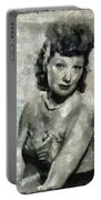 Lucille Ball Vintage Hollywood Actress Portable Battery Charger