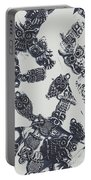 Lucky Charms Of Wise Old Owls Portable Battery Charger