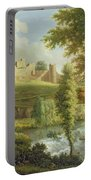 Ludlow Castle With Dinham Weir Portable Battery Charger