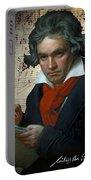 Ludwig Van Beethoven 1820 Portable Battery Charger
