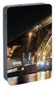 Bridge Dom Luis At Night. Porto Portable Battery Charger