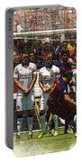 Luis Suarez Hits The Post Portable Battery Charger