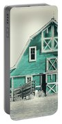 Luna Barn Teal Portable Battery Charger