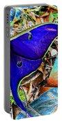 Luna Moth False Color Work One Portable Battery Charger