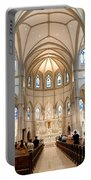 Lunchtime Mass At Saint Paul Cathedral Pittsburgh Pa Portable Battery Charger