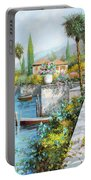 Lungolago Portable Battery Charger by Guido Borelli