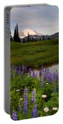 Lupine Sunrise Portable Battery Charger by Mike  Dawson