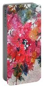 Luscious Bougainvillea Portable Battery Charger by Michelle Abrams