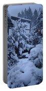 Luscious Snowfall Portable Battery Charger