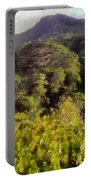 Lush Greenery While Trekking Portable Battery Charger