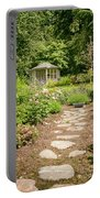Lush Landscaped Garden Portable Battery Charger