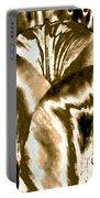 Lustrous Golden Tulip Portable Battery Charger