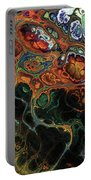 Luxuriant Fractal Portable Battery Charger