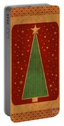 Luxurious Christmas Card Portable Battery Charger