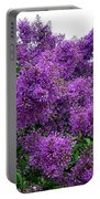 Luxurious Lilacs Portable Battery Charger