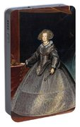 Luycks, Frans Amberes, 1604 - Viena, 1668 Maria Of Austria, Queen Of Hungary Ca. 1635 Portable Battery Charger