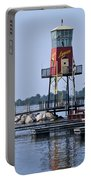 Lyman Harbor Lighthouse Portable Battery Charger