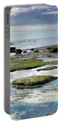 Lyme Regis Seascape 4 - October Portable Battery Charger