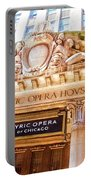 Lyric Opera Of Chicago Portable Battery Charger
