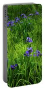 Ma At Irises Portable Battery Charger