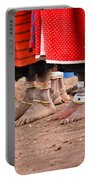 Maasai Feet Portable Battery Charger