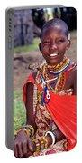 Maasai Teenager Portable Battery Charger