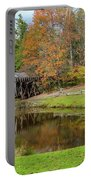 Mabry Mill In Fall 1 Portable Battery Charger