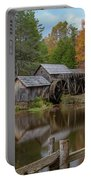 Mabry Mill In Fall 2 Portable Battery Charger