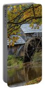 Mabry Mill In Fall 3 Portable Battery Charger