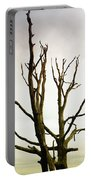 Macabre Leafless Tree Portable Battery Charger