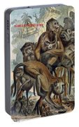 Macaques For Responsible Travel Portable Battery Charger