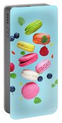 Falling In Love With Macaroons  Portable Battery Charger