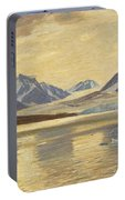 Macco, Georg 1863 Aachen - 1933   Glacier On Spitsbergen Portable Battery Charger
